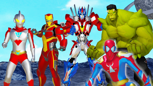 Ultra Hero Fusion : Superhero Ultra Man Battle 1.5.4 screenshots 1