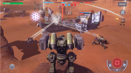 War Robots. 6v6 Tactical Multiplayer Battles 5.8.0 screenshots 6
