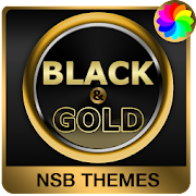 App Black & Gold Theme for Xperia APK for Windows Phone
