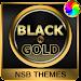 Black & Gold Theme for Xperia icon