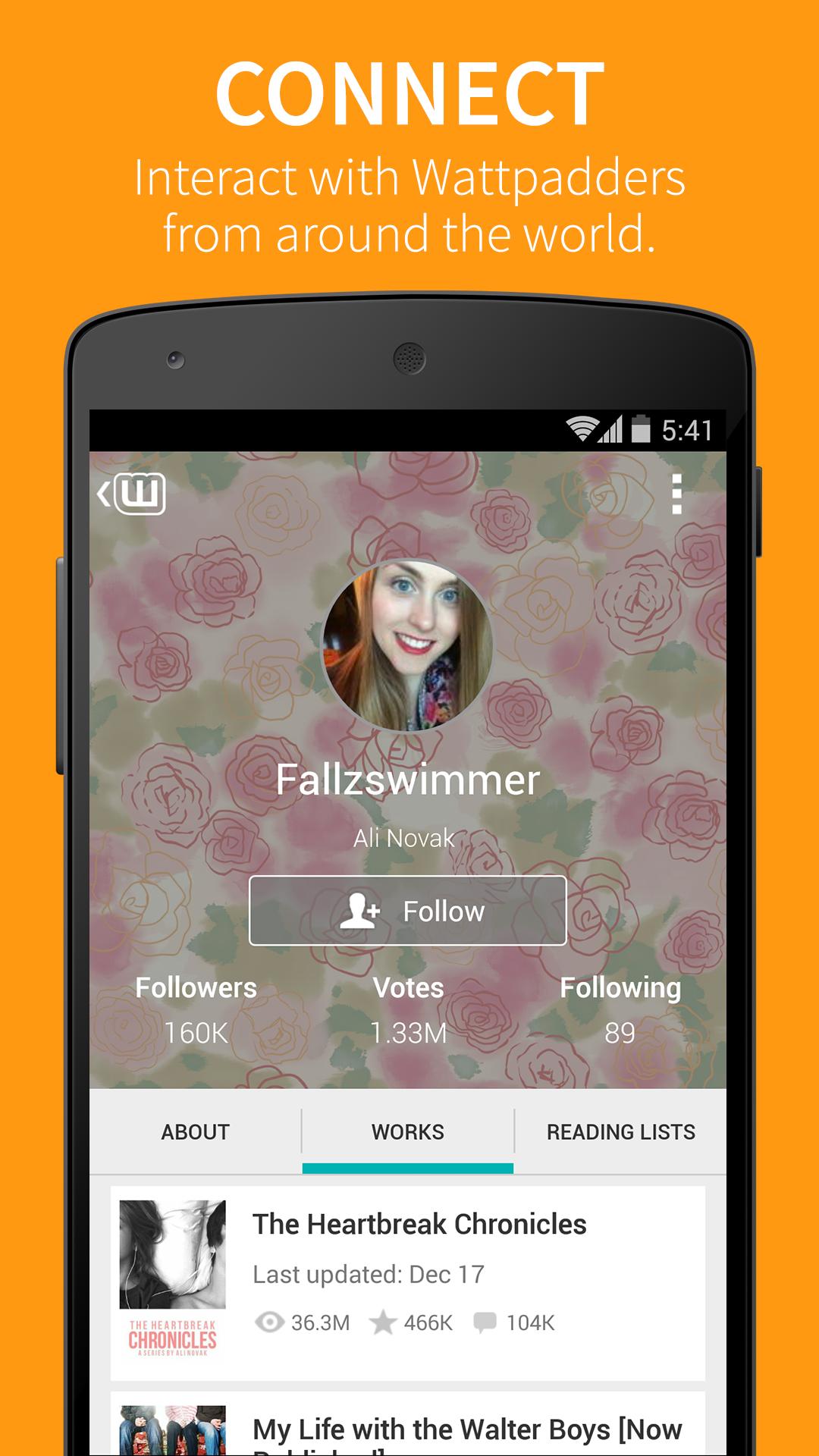 Wattpad screenshot #4