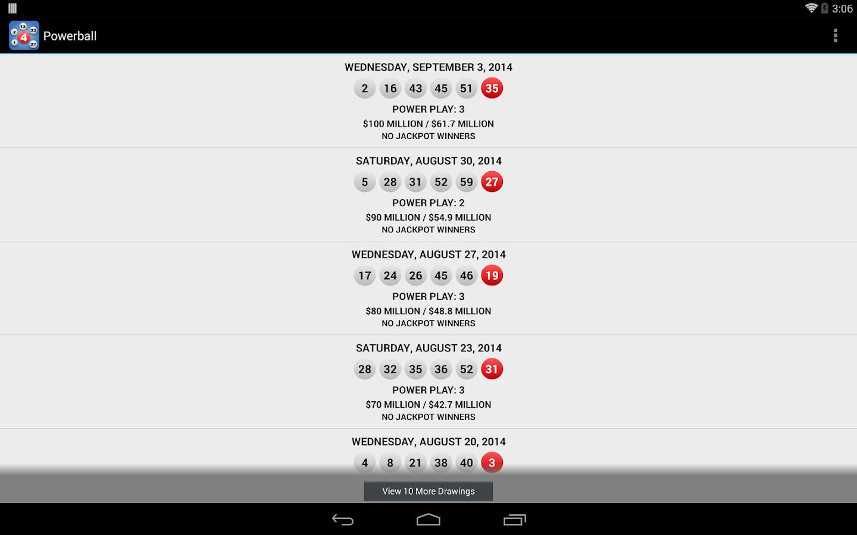 mass state lottery keno results
