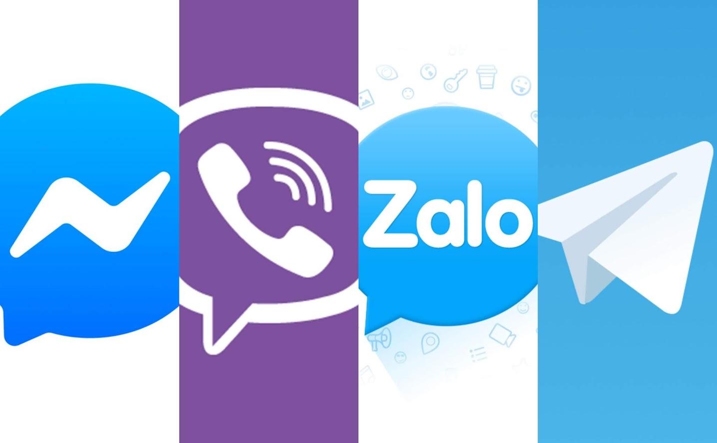 So sánh một số ứng dụng chat phổ biến hiện nay
