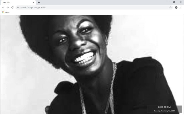 Nina Simone New Tab & Wallpapers Collection