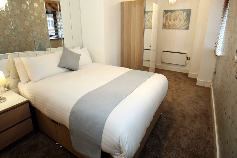 Double bed bedroom at Friars Gate