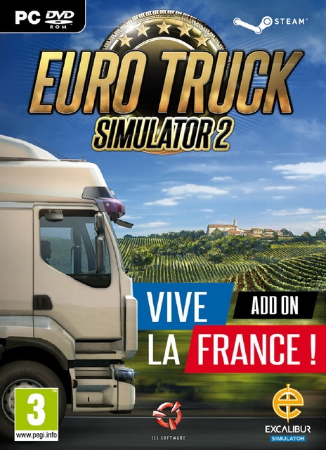 [PC]Euro Truck Simulator 2 Vive la France-SKIDROW