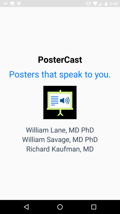PosterCast- screenshot