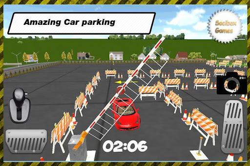 儿童玩具车停车场