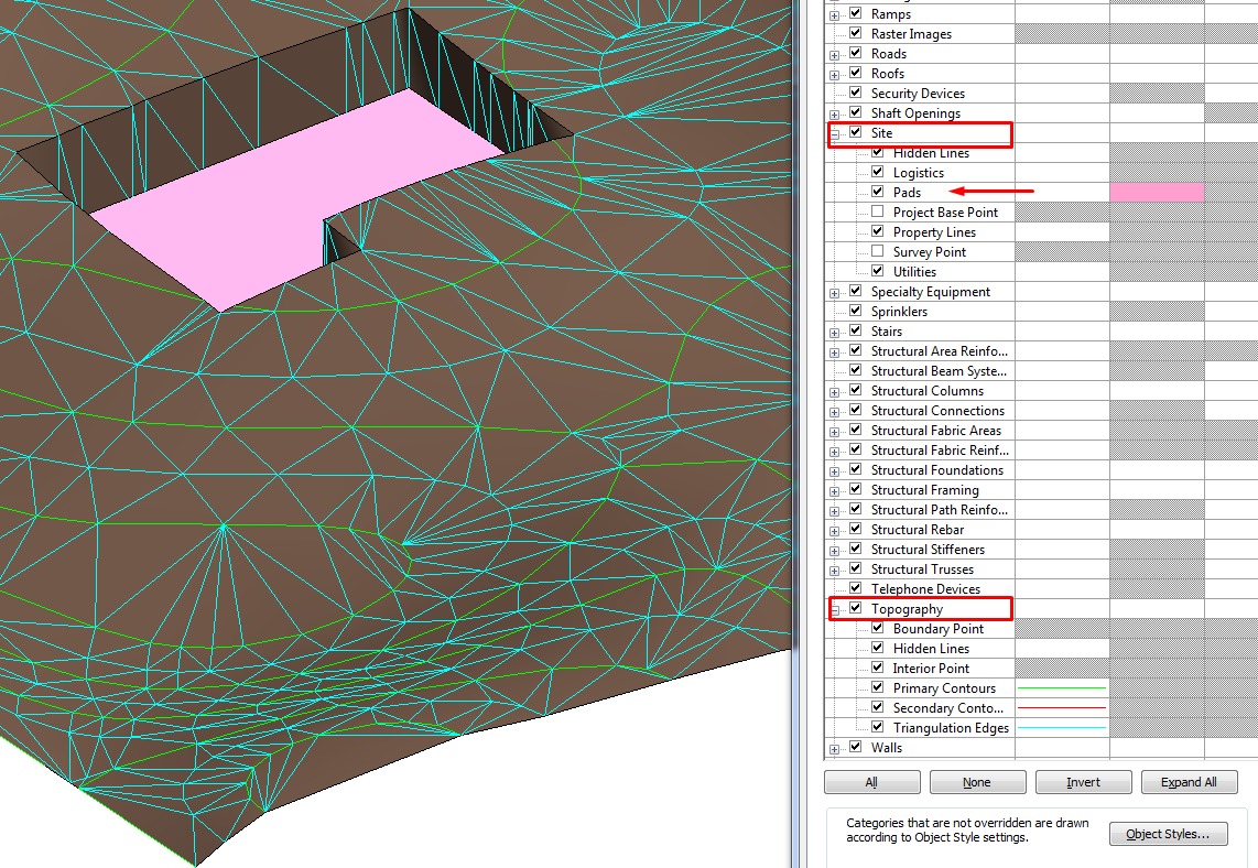 Contour Line Drawing In Autocad : Importing autocad civil topography dwgs into sketchup pro tutorial