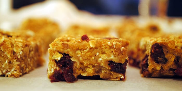 Cranberry Granola Bars Recipe