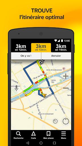 Yandex.Navi - Île-de-France screenshot 1