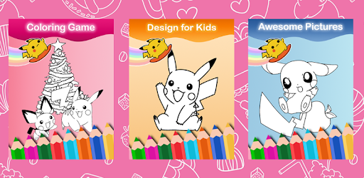 Pikachu Coloring Monster Book App Apk Free Download For Android PC Windows