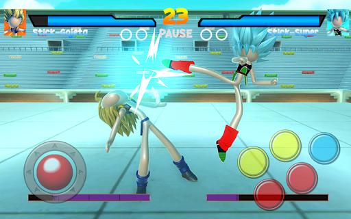 Capturas de pantalla de Stick Super Battle War Warrior Dragon Shadow Fight 7