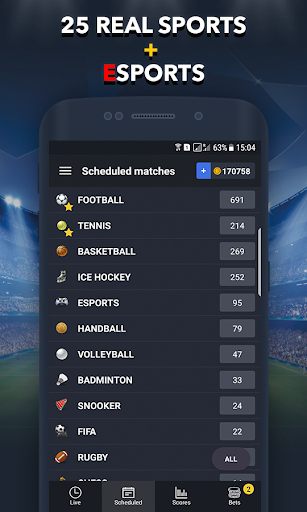 Sports Betting Game - BETUP 1.16 screenshots 3