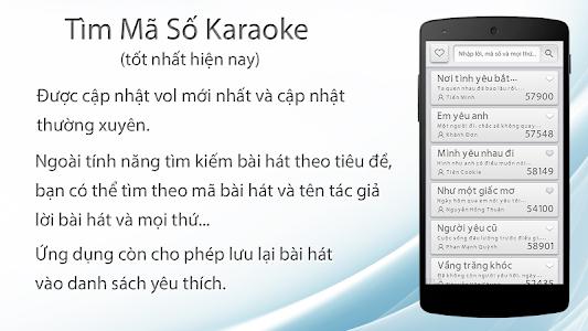 Vol57 Mã số Karaoke screenshot 1