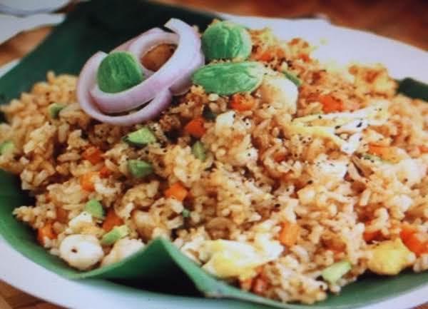 Lemon Pepper Rice And Vegetables
