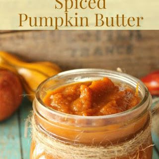 Spiced Pumpkin Butter