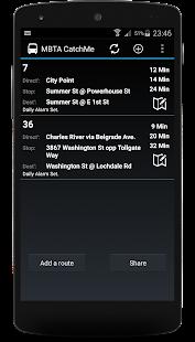 MBTA Boston Maps & Bus Alerts- screenshot thumbnail