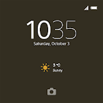 XPERIA™ Theme: Graphite Black 1.0.A.0.0