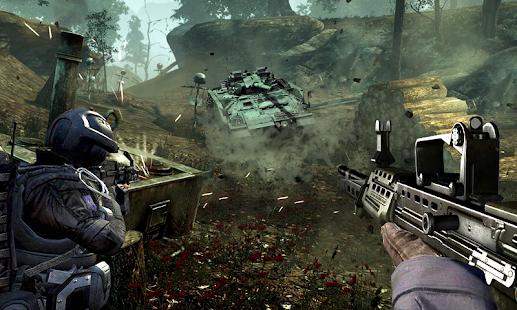 Army Counter Strike Gun - náhled