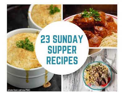 23 Sunday Supper Recipes