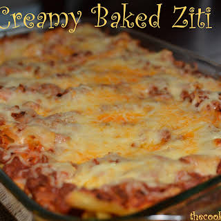 Creamy Baked Ziti.
