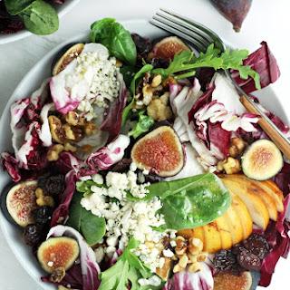 Radicchio, Fig and Gorgonzola Salad.