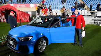 Francisco tomás se fue a casa con este Audi.