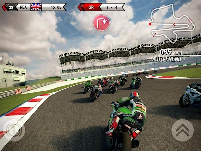 SBK15 Official Mobile Game Screenshot