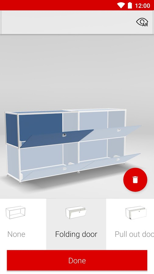 Roomle 3D/AR Furniture Catalog- screenshot
