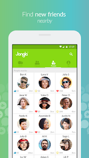Jongla - Social Messenger screenshot 01