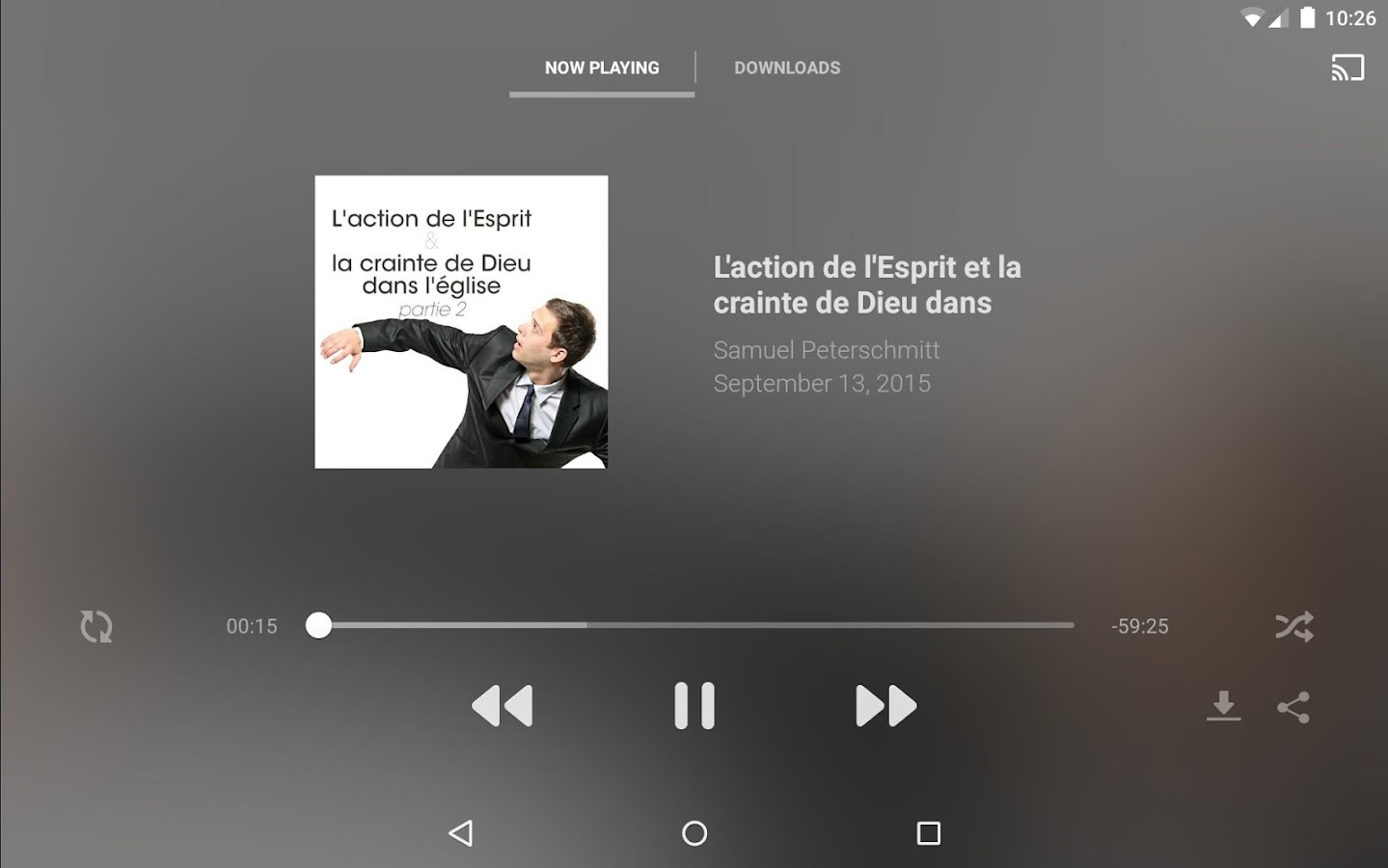 La porte ouverte android apps on google play - Culte en direct porte ouverte mulhouse ...