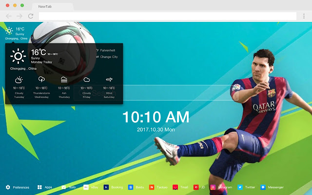 FIFA 18 Popular Games HD New Tabs Themes