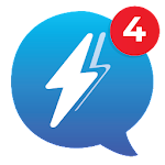 Messenger1 app for free messages & Chat icon