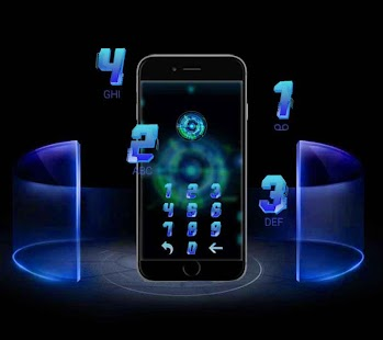 Future Tech Blue - náhled