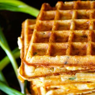Bacon-Cheddar Gluten-Free Waffles