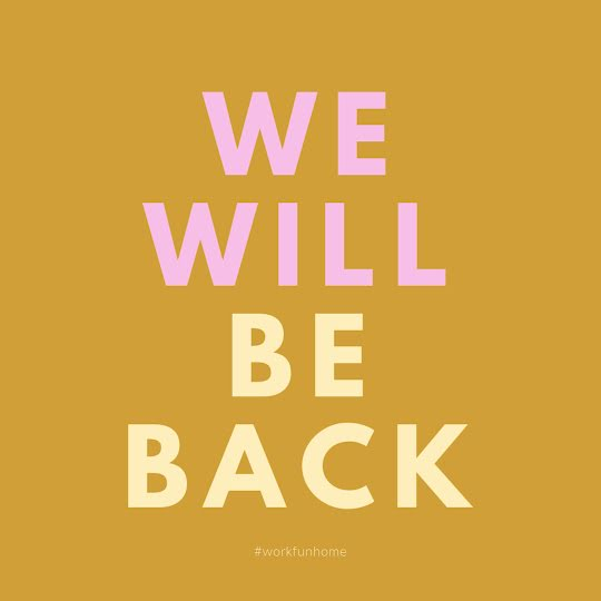 We Will Be Back - Instagram Post Template