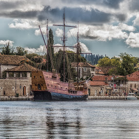 by Angela Higgins - Transportation Boats