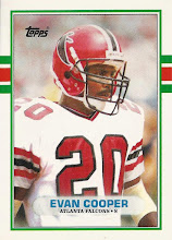 Photo: Evan Cooper 1989 Topps Traded RC