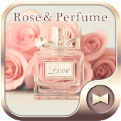 Elegant Wallpaper Rose&Perfume Theme