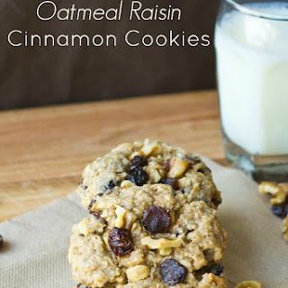 Oatmeal Raisin Cinnamon Cookies