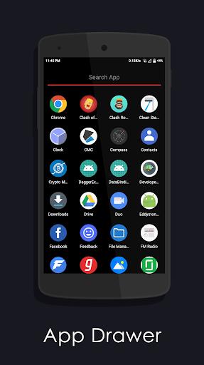 Amoled Launcher screenshot 3