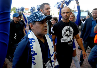 Officiel !  Diego Maradona a retrouvé un club
