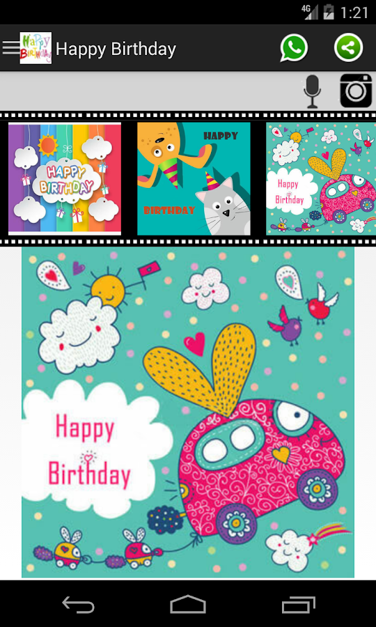 happy birthday card  frame  android apps on google play, Birthday card