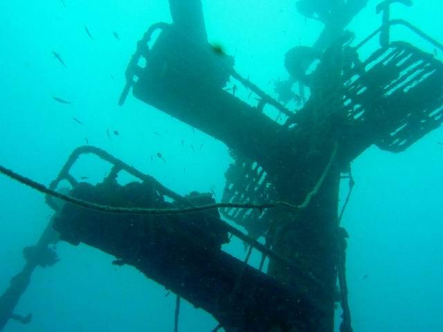 Photo: Épave en Nouvelle-Calédonie