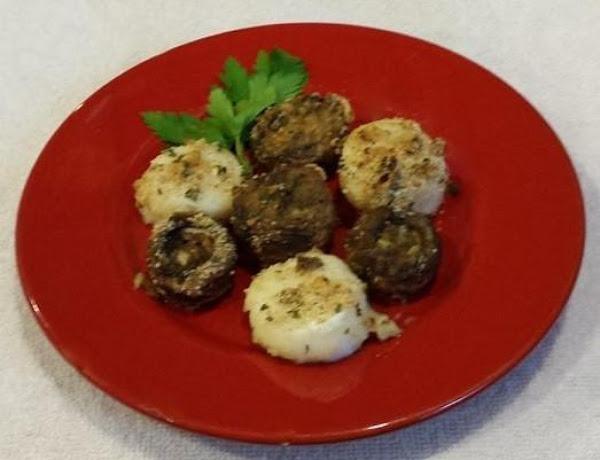 Baked Scallops And Mushrooms In Garlic Sauce Recipe