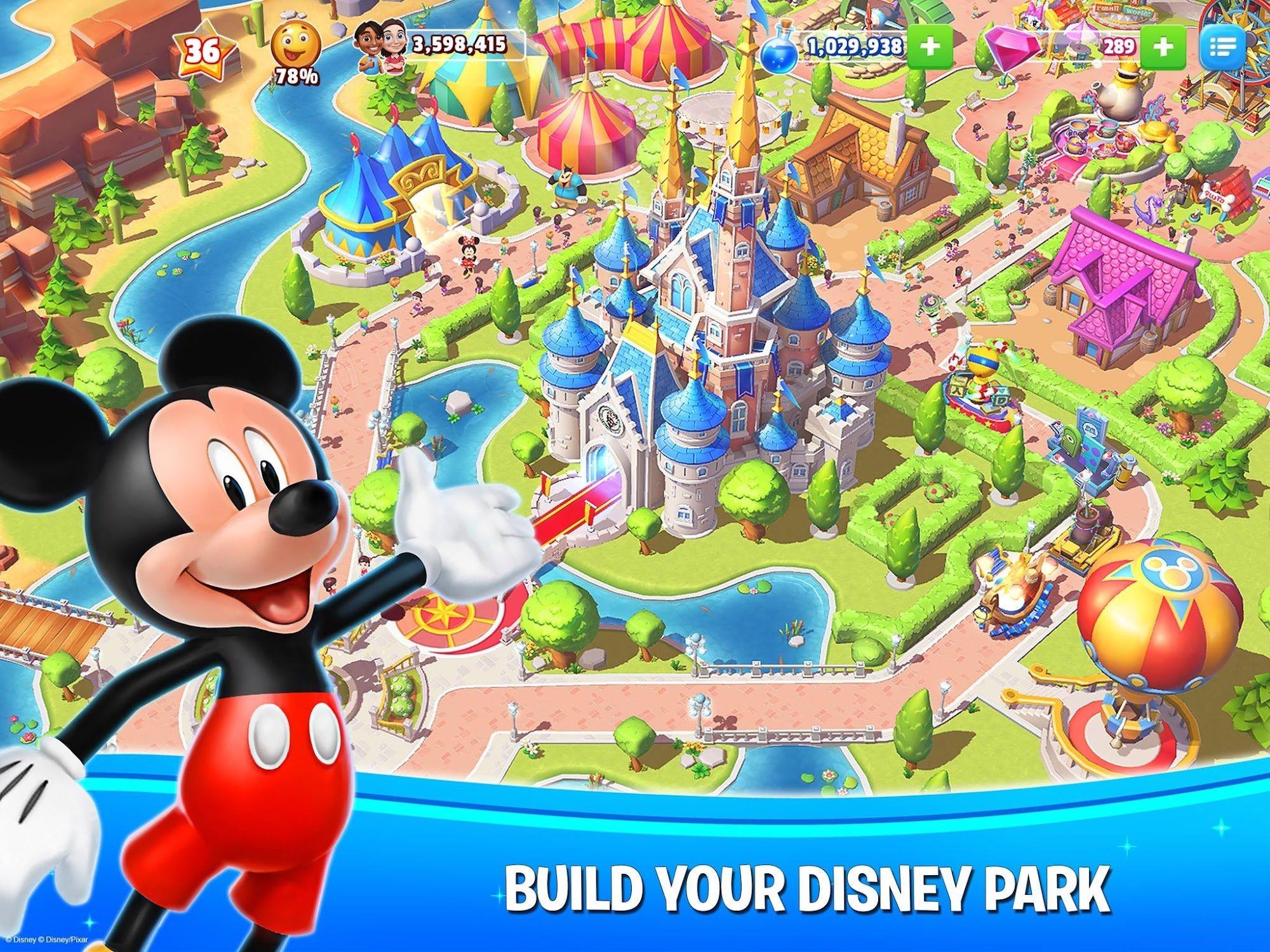 Disney Magic Kingdoms screenshot #1