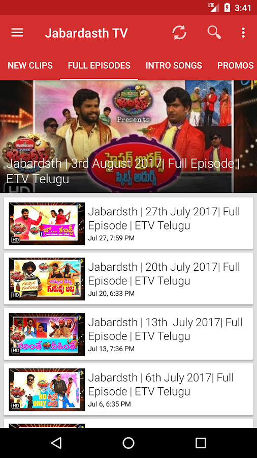 Jabardasth TV - No.1 Telugu Comedy Show - Android Apps on Google Play