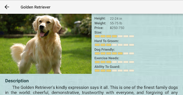 Dog Breeds- screenshot thumbnail
