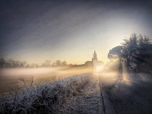 La nebbia e il suo fascino!  di Marilu2019